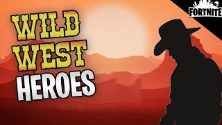 FORTNITE - New Wild West Heroes, All Flintlock Weapons, And Canny Valley Story