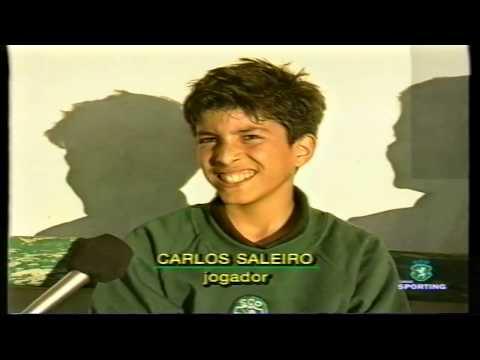 Reportagem sobre a Formação do Sporting em 06/11/1999