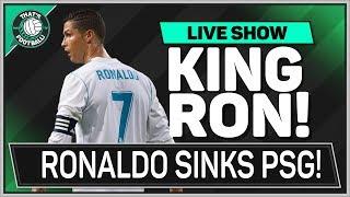 Real Madrid 3-1 PSG | RONALDO Goals Sink NEYMAR!