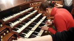 Saint-Sulpice organ. Sophie improvisation