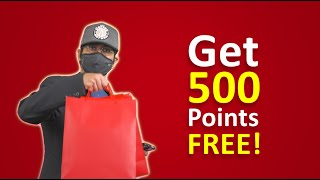 Get 500 points free! | YouSave
