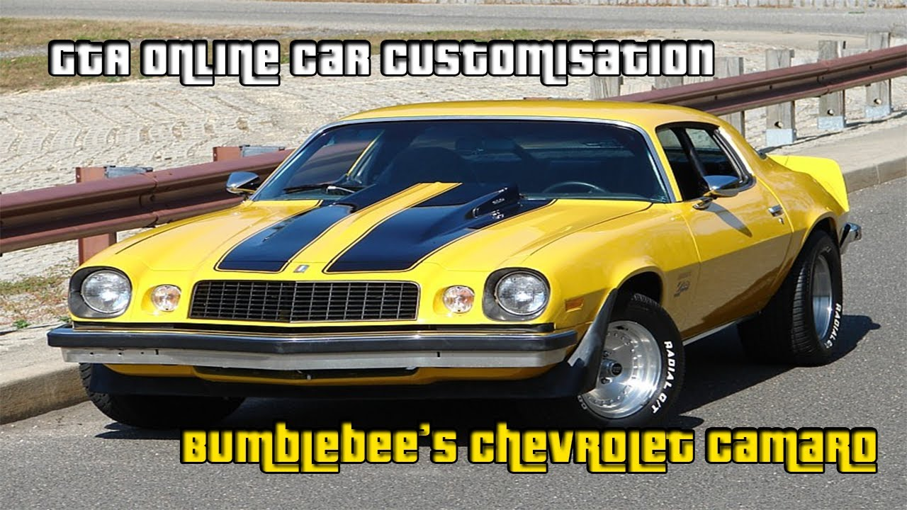 GTA Online Car Customisation  Bumblebees 1976 Chevrolet