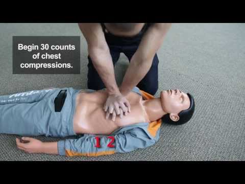 Chest Compressions (CPR Steps)