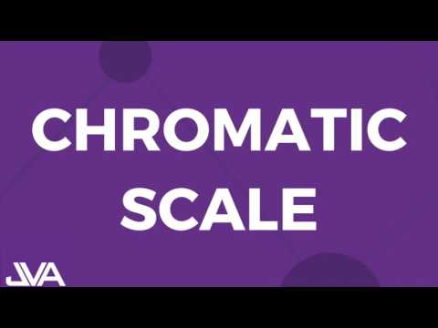 Chromatic Scale - Vocal Exercise