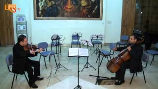 Khaled Shokry - Duo for Violin and Cello (The Shadow) - ECCMOP