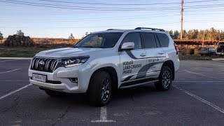 Тест-драйв НОВОГО TOYOTA LAND CRUISER PRADO 2018