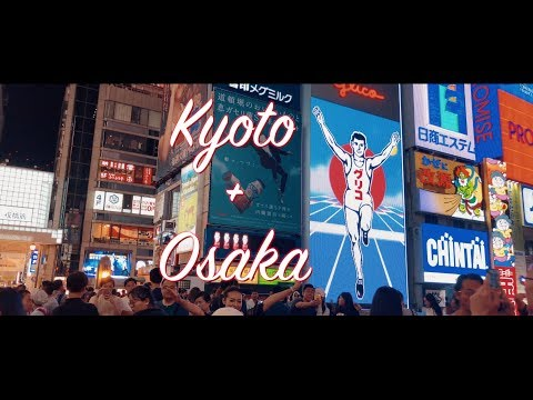 Kyoto and Osaka Summer 2018 | Shot on DJI Osmo Mobile (4K)