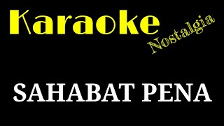 SAHABAT PENA KARAOKE - CHA CHA VERSION | Key : F