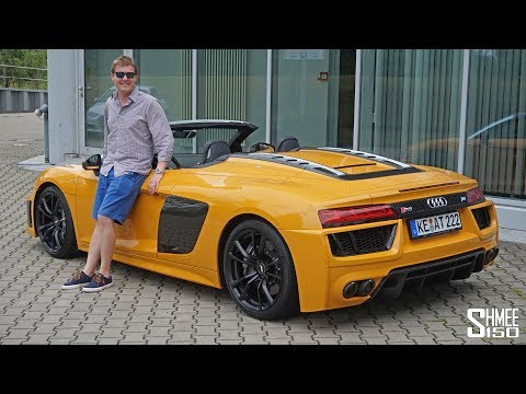 This ABT R8 Spyder Sounds EPIC!