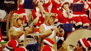 2014年12月20日 大阪桐蔭高校 吹奏楽部 「宝島」 原曲:THE SQUARE(ザ・ス...