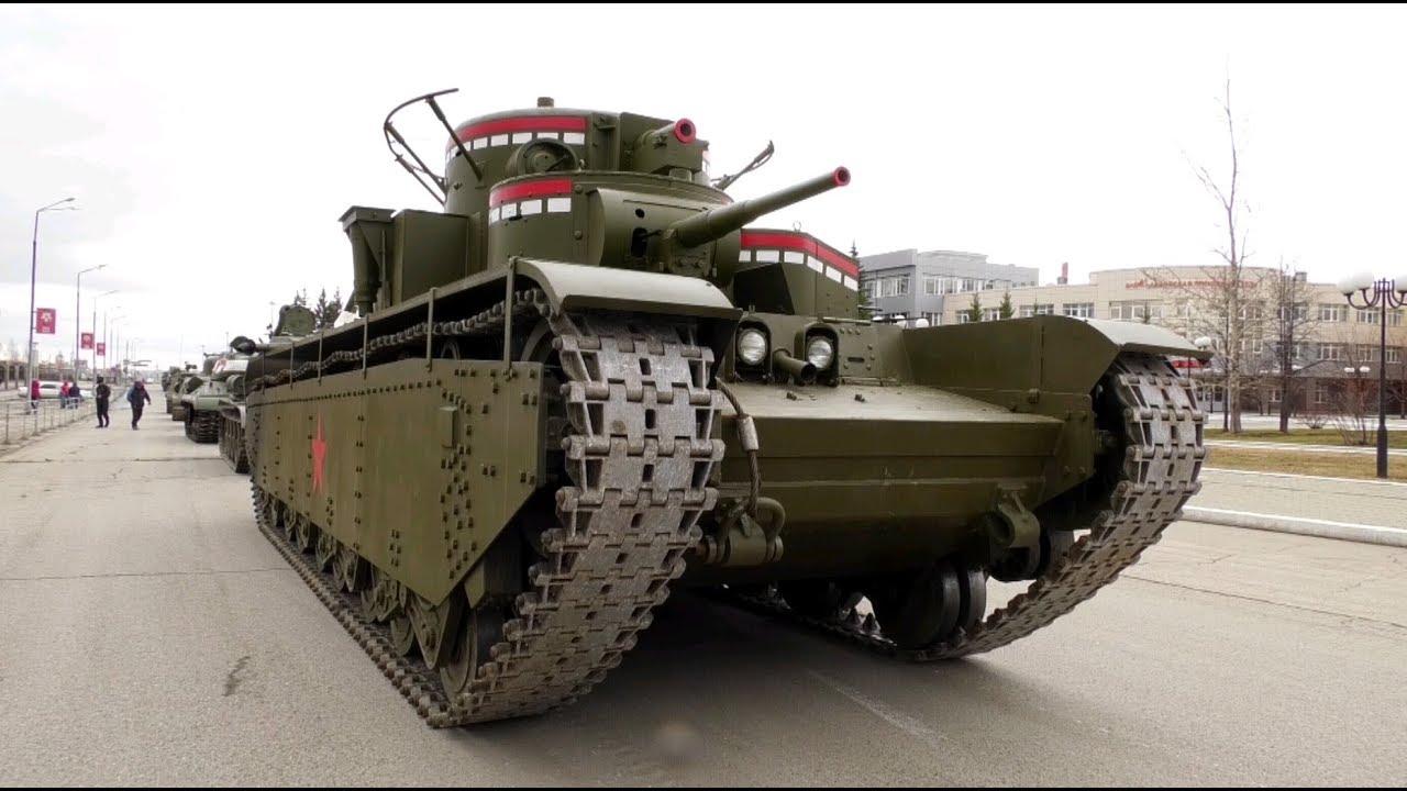 «Парадный мамонт Сталина»: в Верхней Пышме восстановили танк Т-35