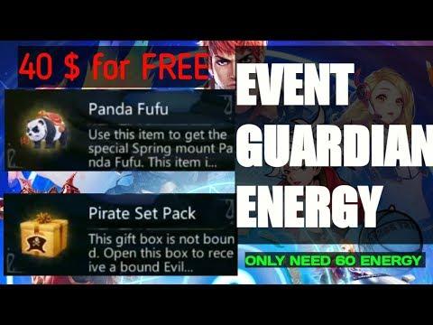 BIG EVENT REWARD FREE PANDA FUFU + PIRATE SET COSTUME - UTOPIA:ORIGIN #16