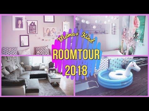 room tour 2018 deutsch ikea hacks wohnzimmer k che terrasse flur 1 nickisbeautyworld. Black Bedroom Furniture Sets. Home Design Ideas