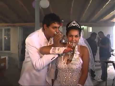 Ghetto Indian Wedding With Fireworks