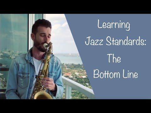 Learning Jazz Standards: The Bottom Line