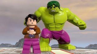 LEGO Marvel Super Heroes 2 - Bruce Banner (Hulk) - Open World Free Roam Gameplay HD