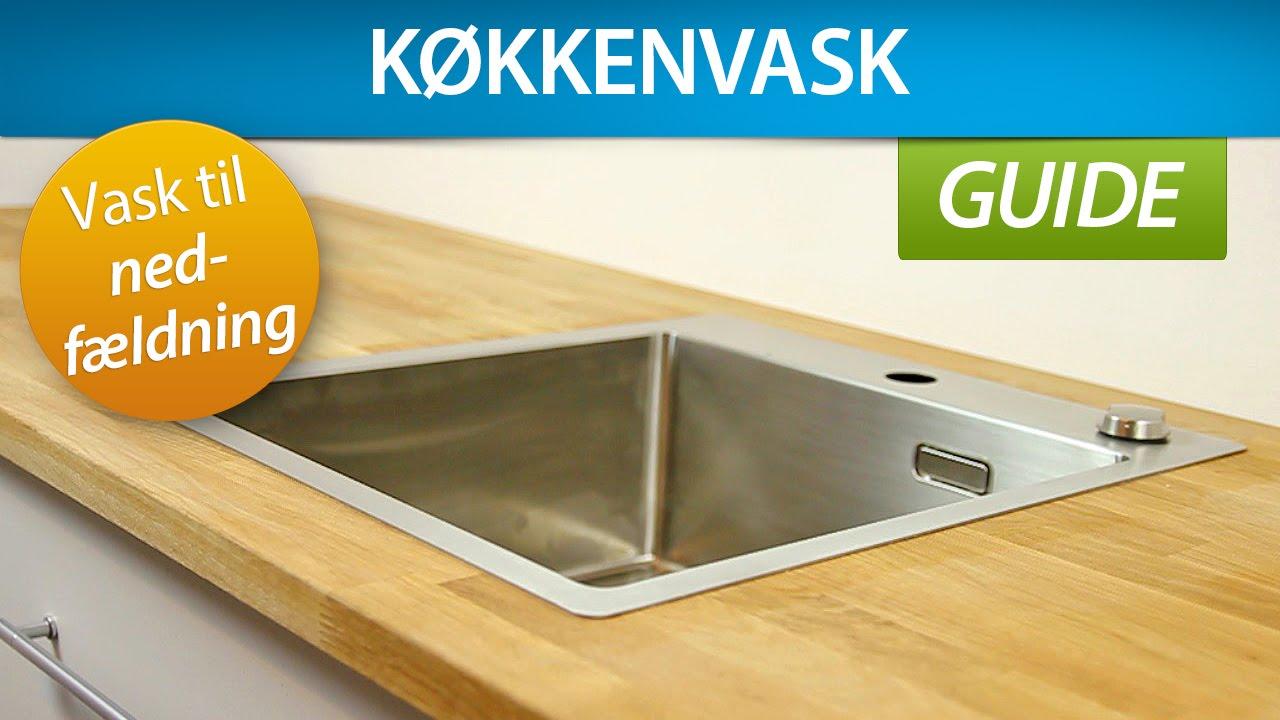 køkkenvask silvan GUIDE | Montering af køkkenvask (nedfældning)   YouTube køkkenvask silvan