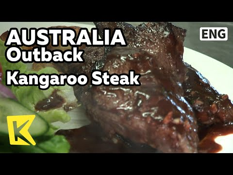 【K】Australia Travel-Outback[호주 여행-아웃백]호주 별미, 캥거루 스테이크/Kangaroo Steak/Meat/Meal/South Australia