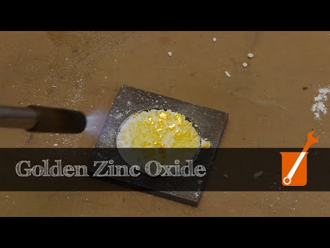 Color-changing Zinc Oxide -- and submit your questions for Ben