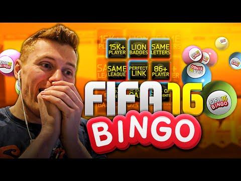 FIFA 16 - UNBELIEVABLE FIFA BINGO!!!