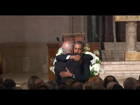 President Obama praises Beau Biden in eulogy