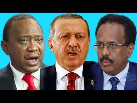 DEG DEG Somalia Oo Gacan Bir Isaga Qabtay Kenya, Uhuru Oo Wel Welsan & Turkiga Oo Amaanay Ciidama