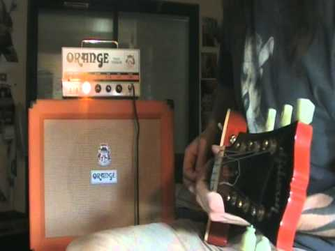 Orange Tiny Terror Ppc 112 Cab Test Demo Metal And Clean Sound