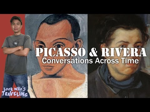LACMA Museum Picasso and Rivera Conversations Across Time: Look Who's Traveling