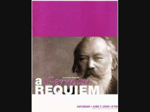UCLA Brahms German Requiem - I. Blessed Are They That Mourn