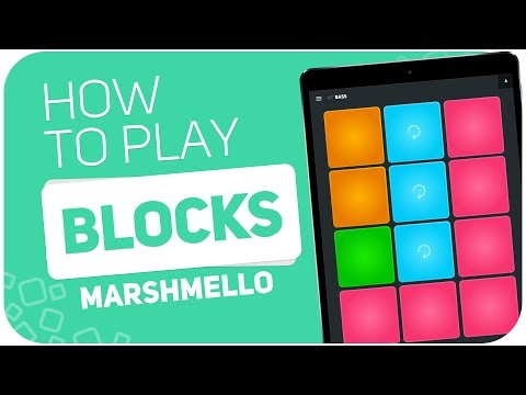 How to play: BLOCKS (Marshmello) - SUPER PADS - Kit BASS