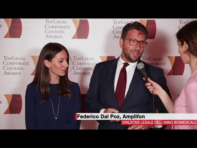 Federico Del Poz, Amplifon  - TopLegal Corporate Counsel Awards 2018