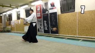 22 JO KATA [TUTORIAL] advanced Aikido weapon technique