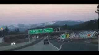 S1E4: I-80 E (CA) Donner Summit and Truckee Canyon at Dusk
