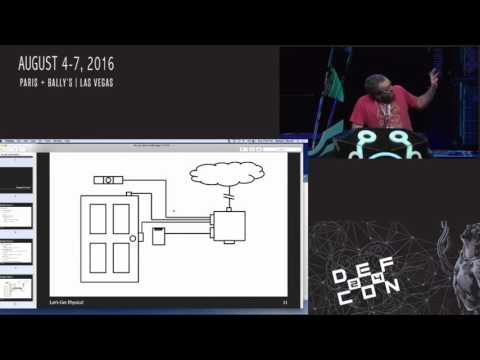 DEF CON 24 - Network Attacks Against Physical Security Systems