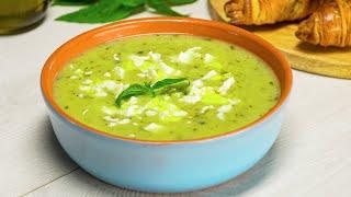 Суп-пюре из кабачков. Рецепт от Всегда Вкусно!