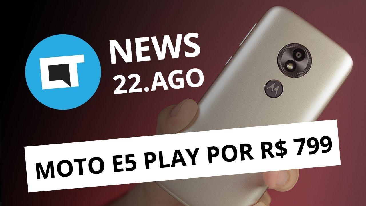 78885d5aea Moto E5 Play com Android Go; Xiaomi Poco F1 por US$ 300; Giphy ...