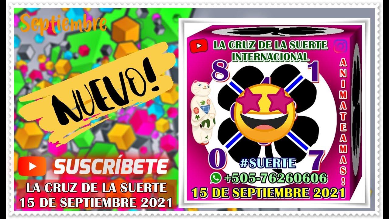 Cruz!! 15 de Septiembre 2021 | La Cruz De La Suerte