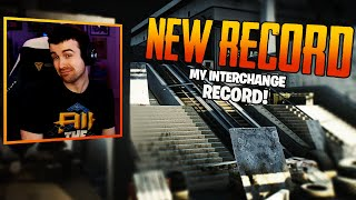 MY INTERCHANGE RECORD! ESCAPE FROM TARKOV W/ GINGERLINESS