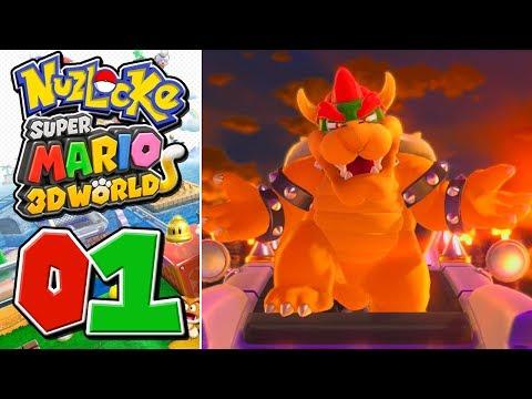 Super Mario 3D World - NUZLOCKE - World 1 (Part 1)