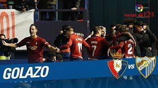 Golazo de Roberto Torres (2-1) CA Osasuna vs Málaga CF