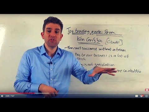 Top Trading Quotes from Billionaire Kenneth Griffin 🤑 - YouTube