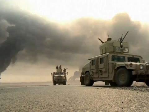 Raw: Kurds Pause as Iraqi Army Pushes to Mosul
