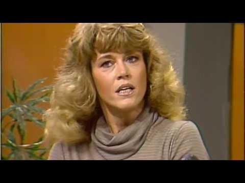Jane Fonda with Tom Hayden