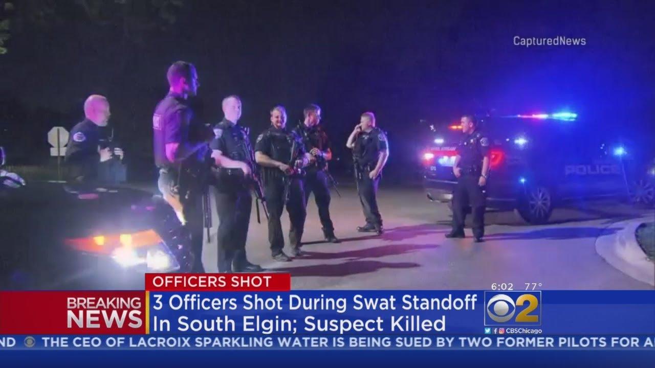 Officers Shot In South Elgin