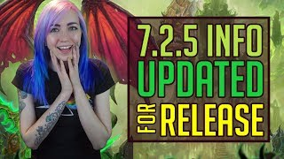 725 Everything You NEED to Know  Info Up to Date for Release  World of Warcraft  TradeChat