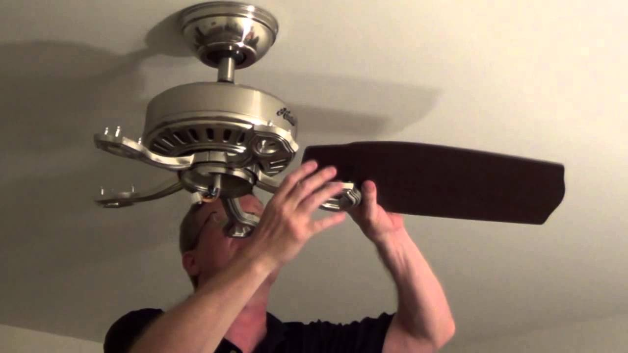 How To Install A Ceiling Fan With Light | WANTED Imagery
