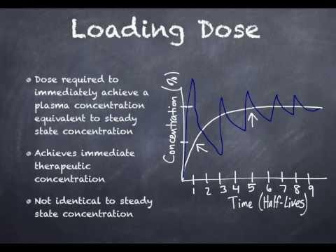 Loading Dose vs. Maintenance Dose