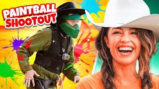 100 Thieves Paintball Duel ft. EVERYONE