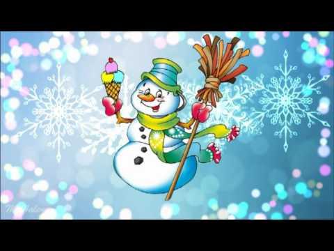 Детский клип — Снеговик