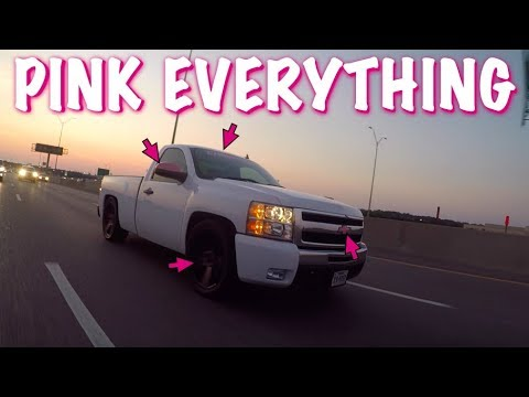 WIFE'S TRUCK GETS PINK EVERYTHING   FIXING THINGS ON DINOCO